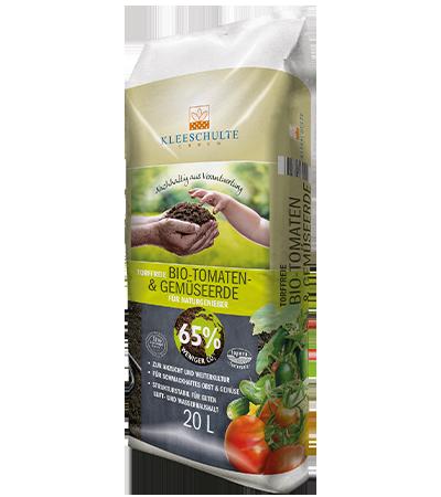 Bio Tomaten und Gemüseerde torffrei von Kleeschulte Erden
