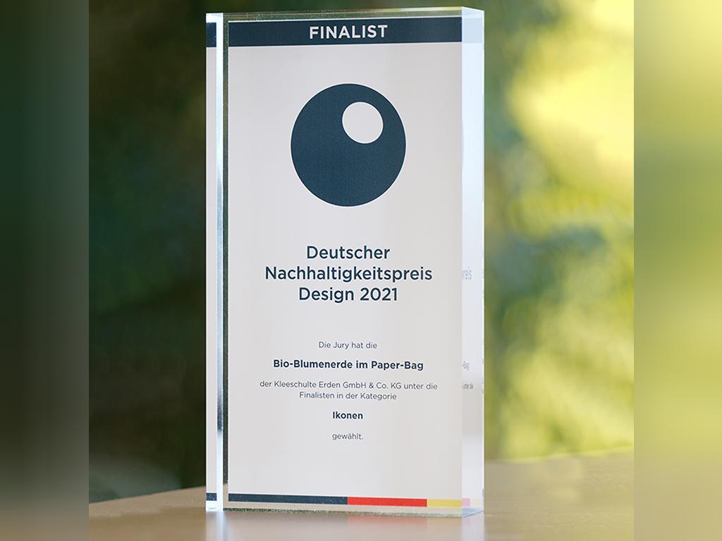 Finalist für den Deutschen Nachhaltigkeitspreis Design